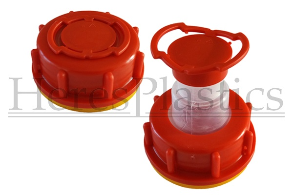 pull-up spout cap DIN61 for jerry can