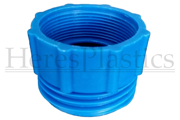 thread adapter blue s70x6 2 inch bsp